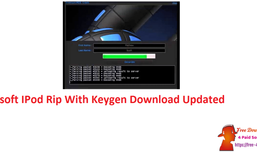 Xilisoft IPod Rip 5.7.30Build 20190912 With Keygen Download [Updated]
