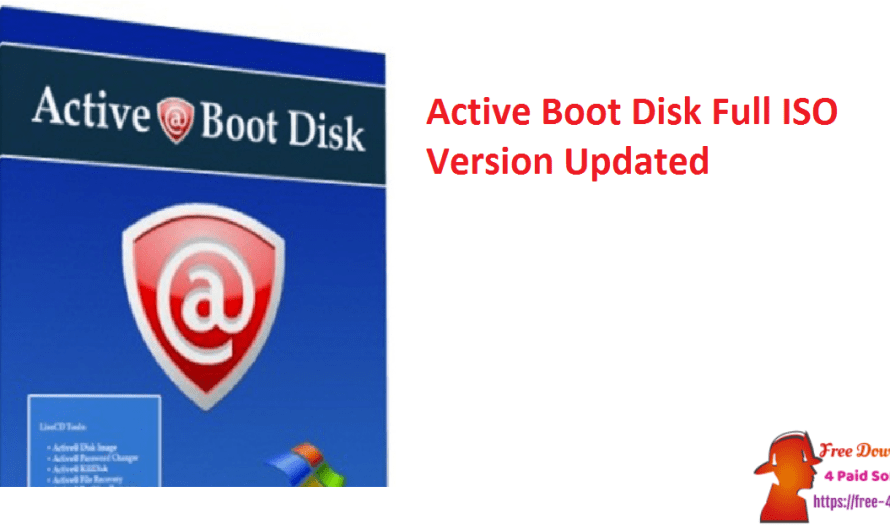 Active Boot Disk 17.0.0 Full ISO Version [Updated]