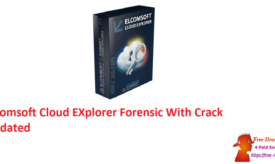 Elcomsoft Cloud EXplorer Forensic 2.32 Build 37298 With Crack [Updated]