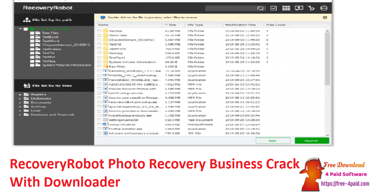 RecoveryRobot Photo Recovery Business Crack With Downloader