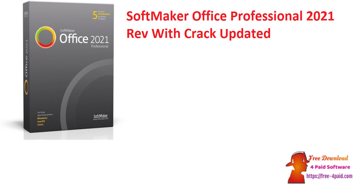 SoftMaker Office Professional 2021 Rev With Crack Updated