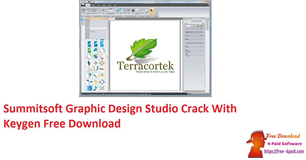 Summitsoft Graphic Design Studio Crack With Keygen Free Download