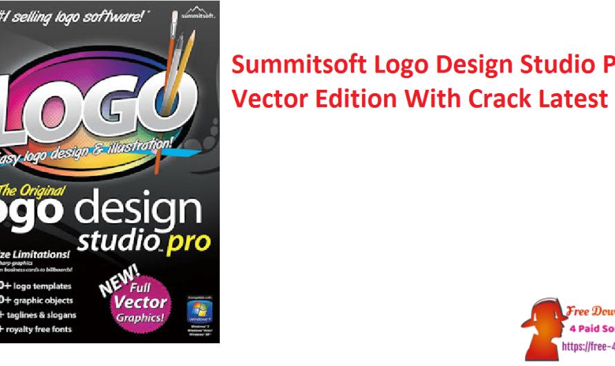 Summitsoft Logo Design Studio Pro Vector Edition 4.5.0.0 With Crack [Latest]