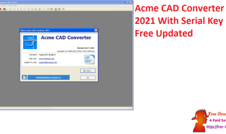 Acme CAD Converter 2021 With Serial Key Free Updated