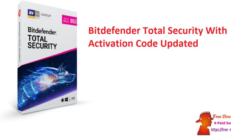Bitdefender Total Security 25.0.22.52 With Activation Code [Updated]