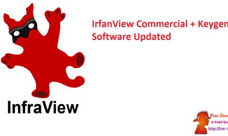 IrfanView Commercial + Keygen Software Updated