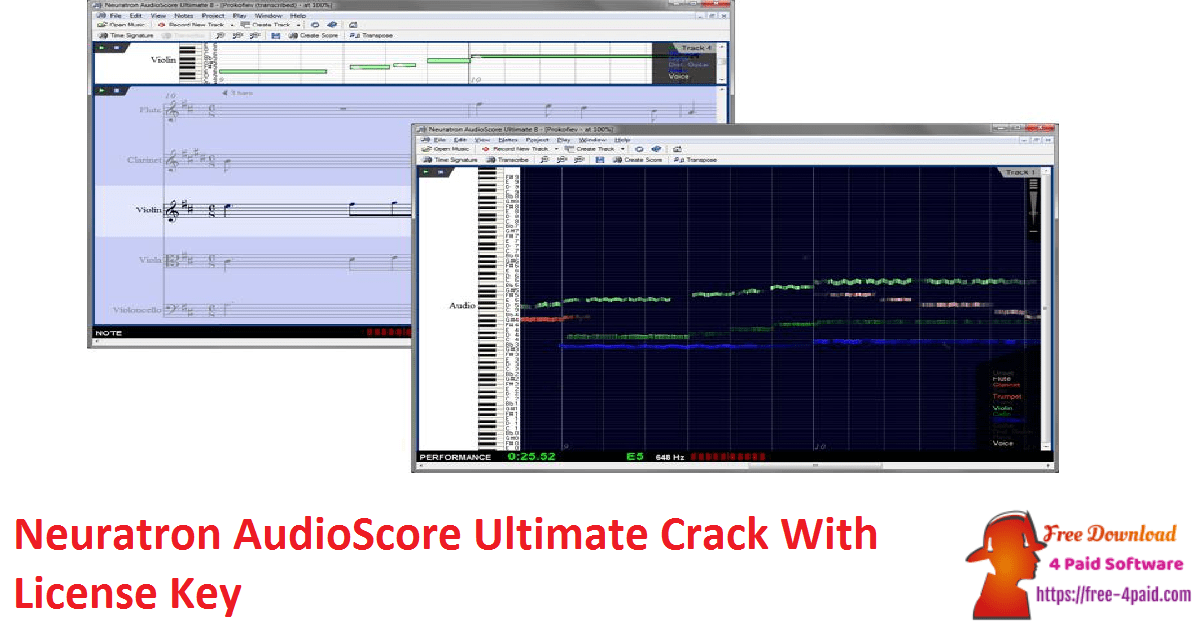 Neuratron AudioScore Ultimate Crack With License Key