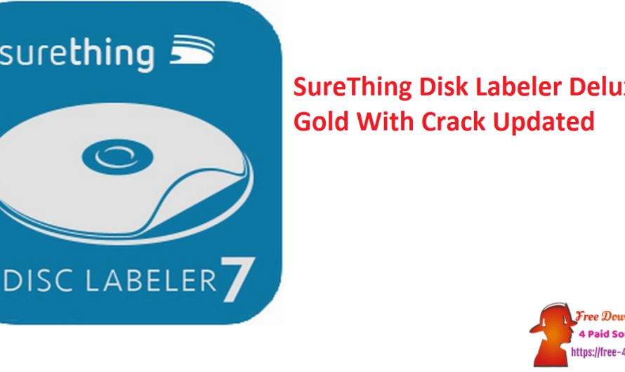 SureThing Disk Labeler Deluxe Gold 7.0.95.0 With Crack [Updated]