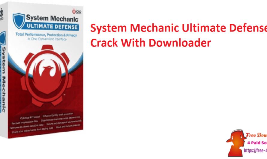 System Mechanic Ultimate Defense 21.5.1.2 Crack Full [Updated]
