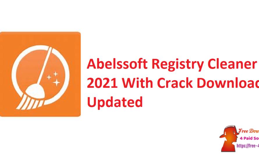 Abelssoft Registry Cleaner 2021 V6.02 Crack Download [Updated]