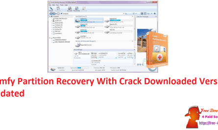 Comfy Partition Recovery With Crack Downloaded Version Updated