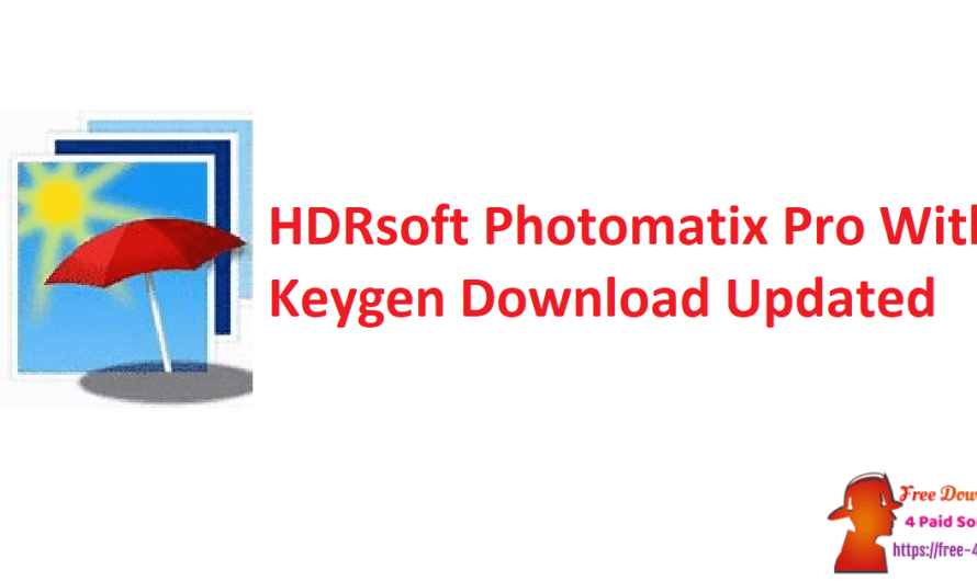 HDRsoft Photomatix Pro 6.3 With Keygen Download [Updated]
