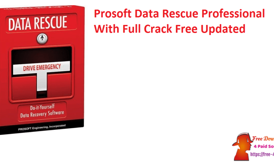 Prosoft Data Rescue Professional 6.0.5 With Crack Free [Updated]