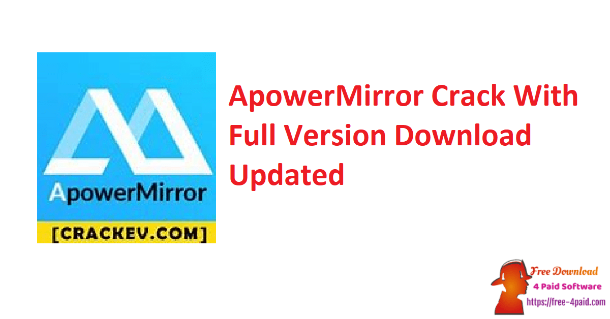 ApowerMirror Crack With Full Version Download Updated