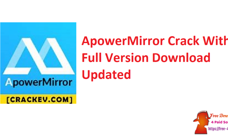 ApowerMirror Crack 1.7.0.3 With Full Version Download [Updated]
