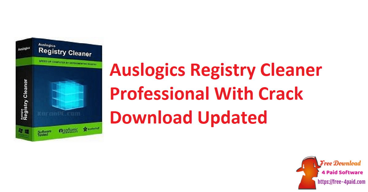 Auslogics Registry Cleaner Professional With Crack Download Updated