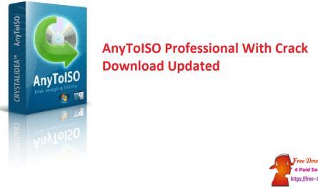 AnyToISO Professional With Crack Download Updated