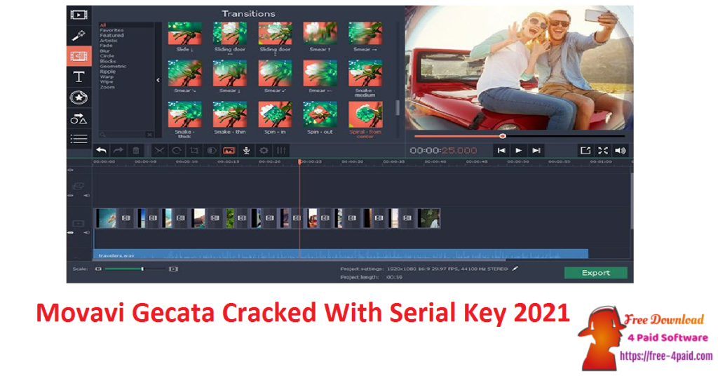 Movavi Gecata Cracked With Serial Key 2021