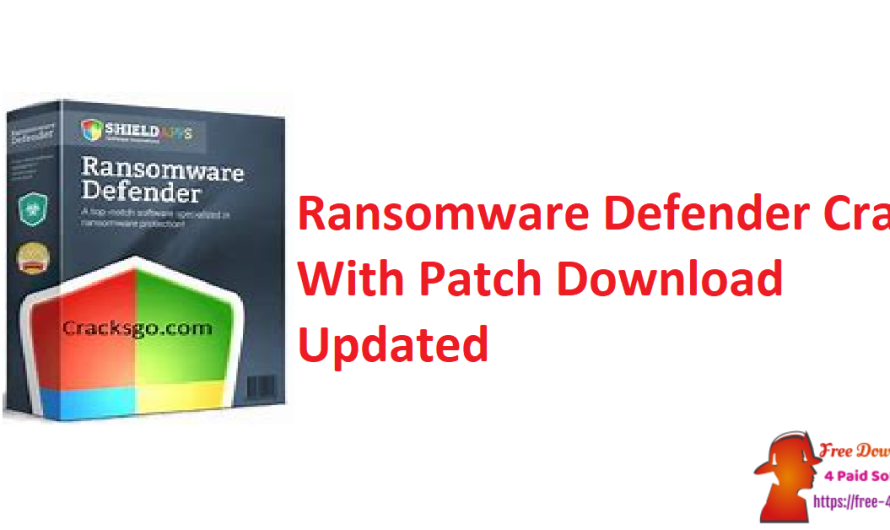 Ransomware Defender 4.2.3 Crack + Patch Download [Updated]