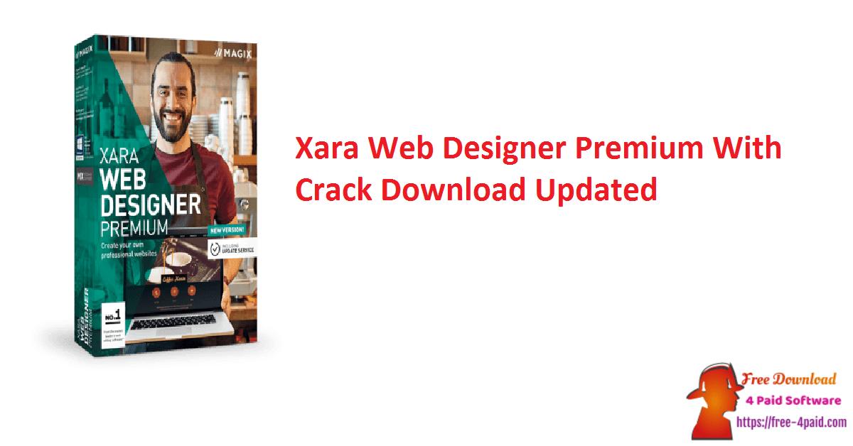 Xara Web Designer Premium With Crack Download Updated