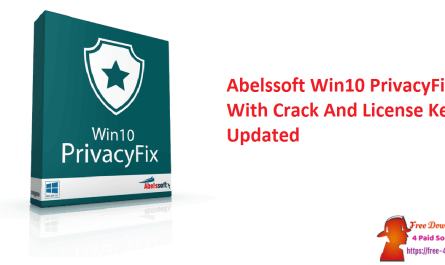 Abelssoft Win10 PrivacyFix With Crack And License Key Updated