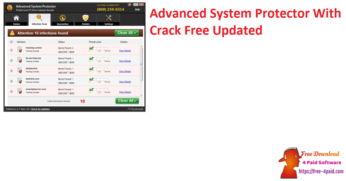 Advanced System Protector With Crack Free Updated