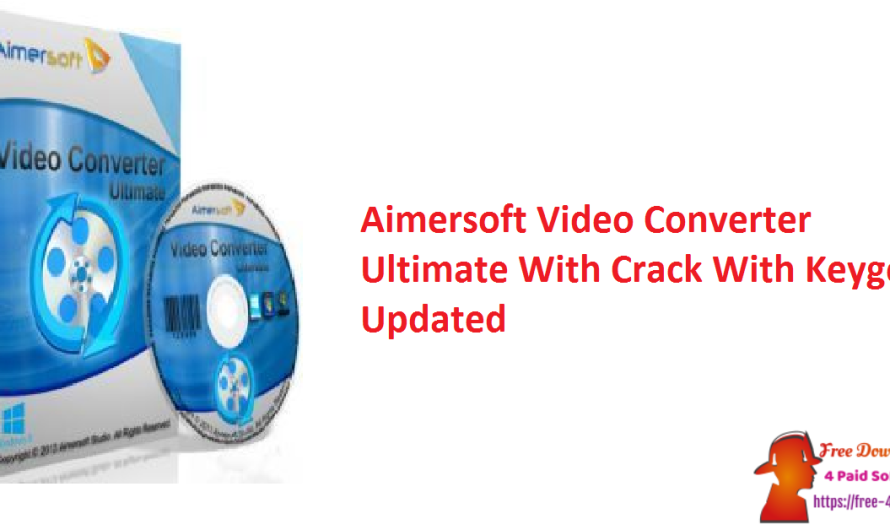 Aimersoft Video Converter Ultimate 11.7.4.3 With Crack With Keygen