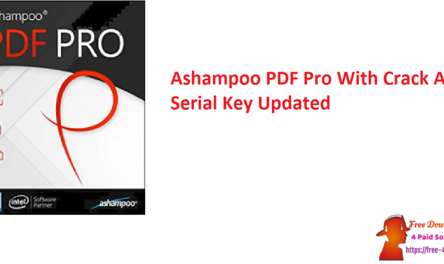 Ashampoo PDF Pro 2.1.0 With Crack And Serial Key [Updated]