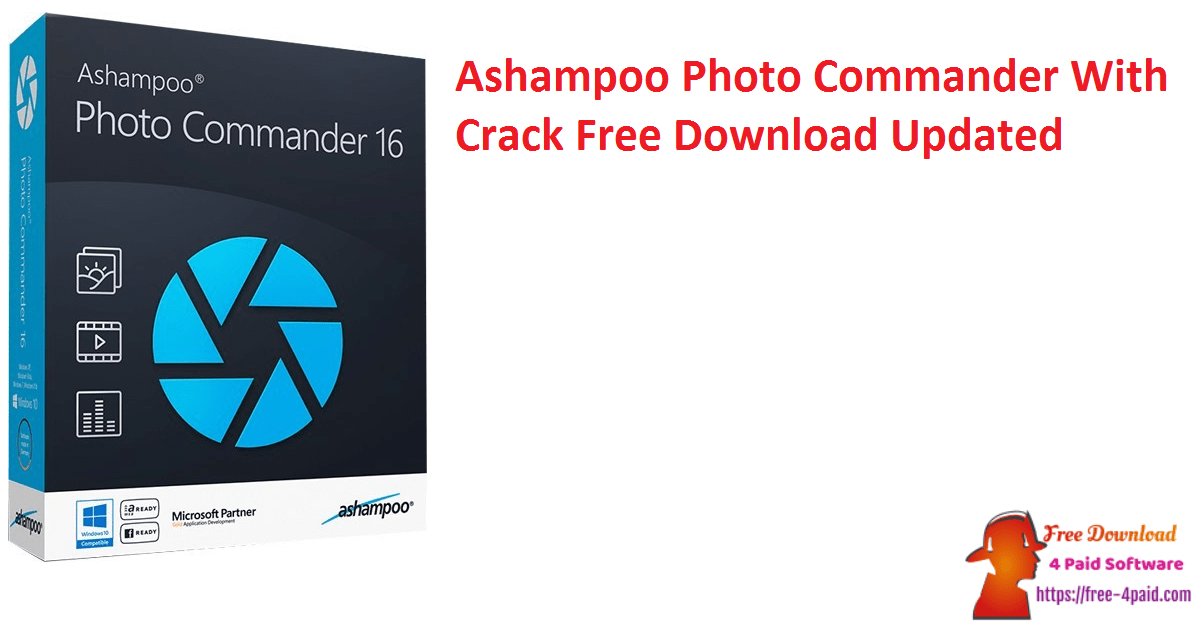 Ashampoo Photo Commander With Crack Free Download Updated