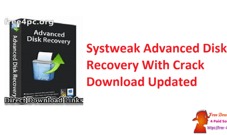 Systweak Advanced Disk Recovery With Crack Download Updated
