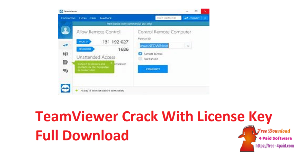 TeamViewer Crack With License Key Full Download