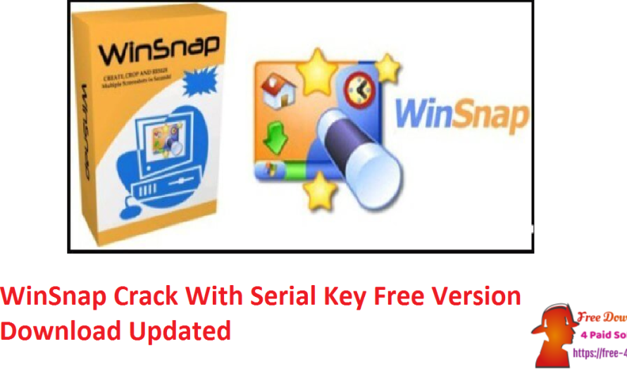 WinSnap 5.2.9 Crack With Serial Key Free Version Download [Updated]