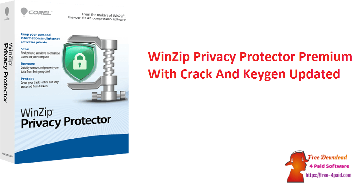 WinZip Privacy Protector Premium With Crack And Keygen Updated