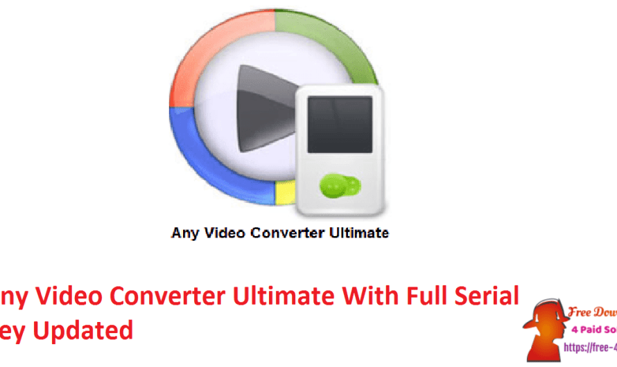 Any Video Converter Ultimate 7.2.0  With Full Serial Key [Updated]