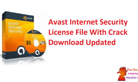 Avast Internet Security License File With Crack Download Updated