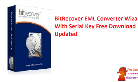 BitRecover EML Converter Wizard With Serial Key Free Download Updated