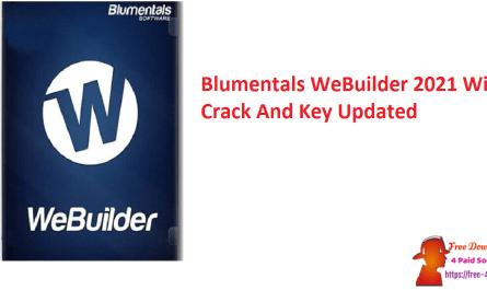 Blumentals WeBuilder 2021 With Crack And Key Updated