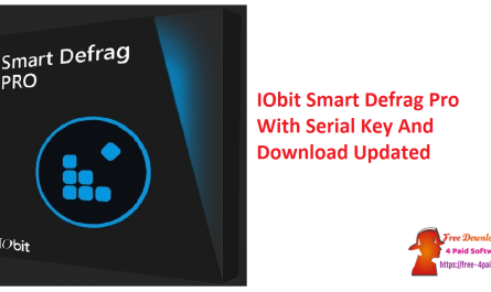 IObit Smart Defrag Pro With Serial Key And Download Updated