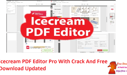 Icecream PDF Editor Pro With Crack And Free Download Updated