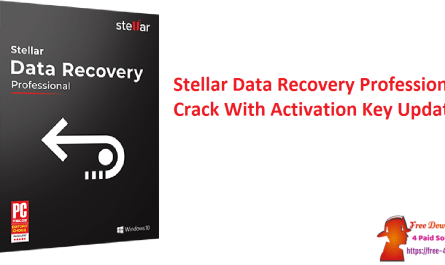 Stellar Data Recovery Professional Crack With Activation Key Updated