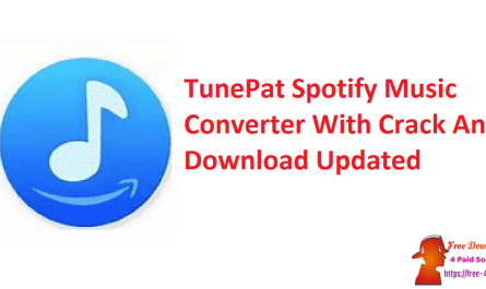 TunePat Spotify Music Converter With Crack And Download Updated