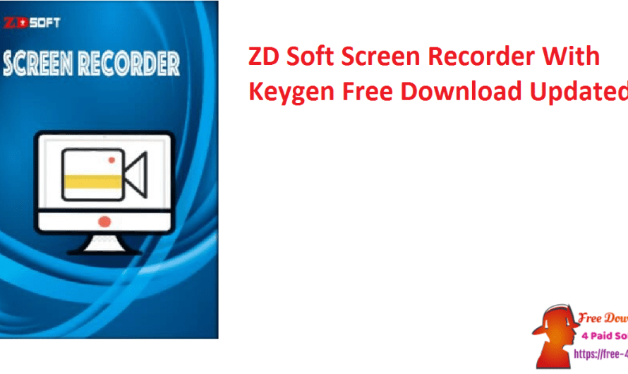 ZD Soft Screen Recorder 11.3.0 With Keygen Free Download [Updated]