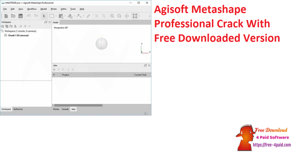 Agisoft Metashape Professional Crack With Free Downloaded Version