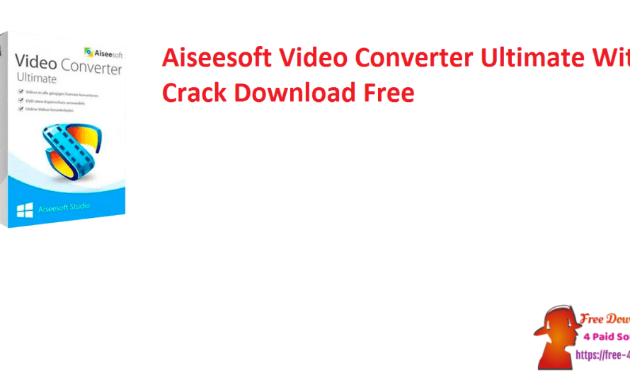 Aiseesoft Video Converter Ultimate 10.1.20 Crack Download Free