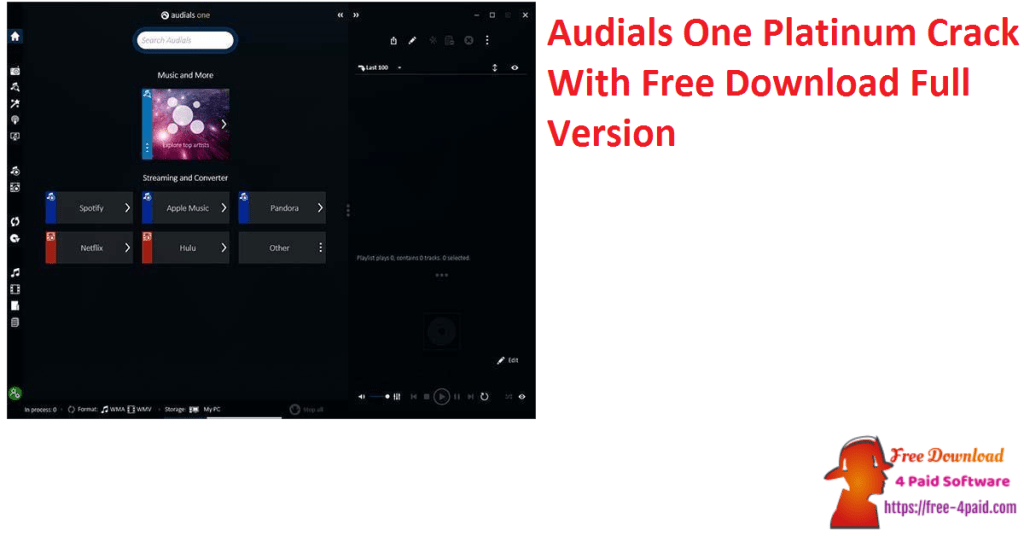 Audials One Platinum Crack With Free Download Full Version