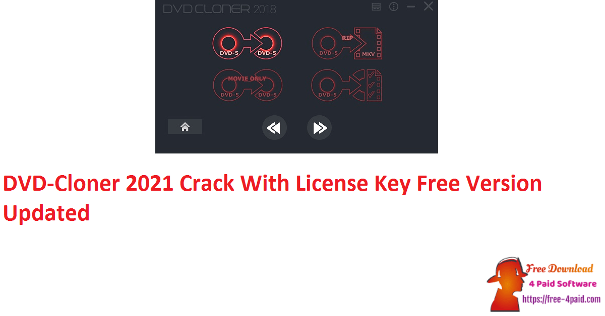 DVD-Cloner 2021 Crack With License Key Free Version Updated