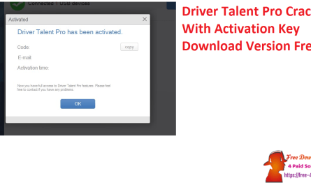 Driver Talent Pro Crack With Activation Key Download Version Free