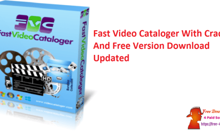 Fast Video Cataloger With Crack And Free Version Download Updated
