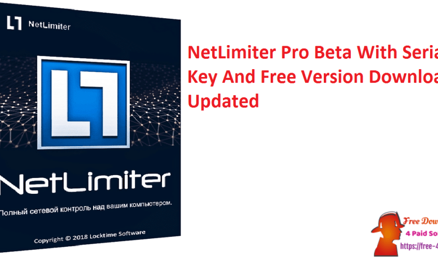 NetLimiter Pro 4.1.11 Beta With Serial Key And Free Download [Updated]