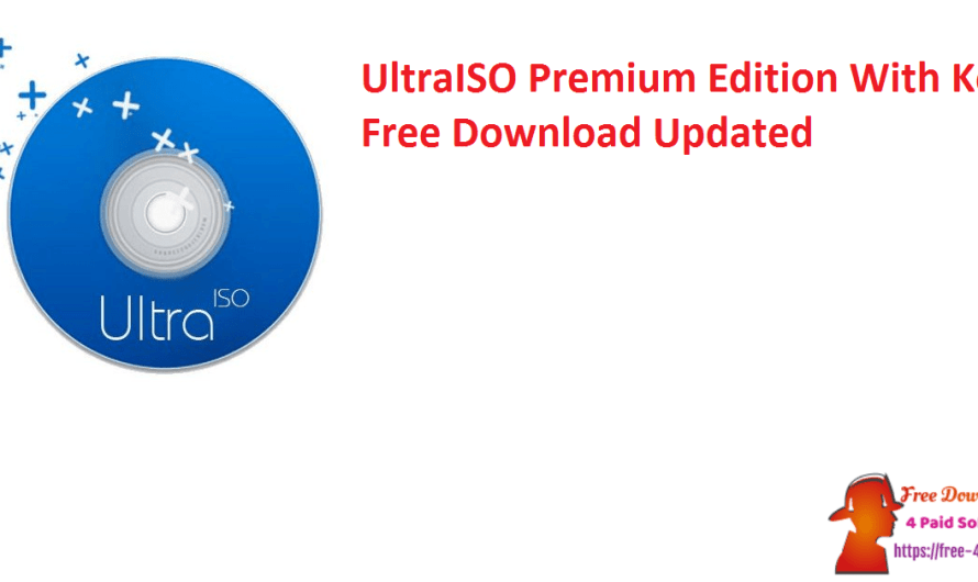 UltraISO Premium Edition 9.7.6.3829 With Crack Free Download [Updated]